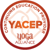 Logo YACEP -  Yoga Alliance Continuing Education Provider